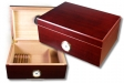 Rosewood Finish Humidor Hygro V-670 Inkl. Polymerbefeuchter