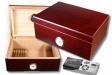 Cigar Oasis Ultra 2.0 Rosewood Finish Humidor Hygro V-670