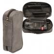 2er Pfeifentasche mit herausnehmbaren Tabakbeutel grey