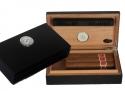 LA Pocket Humidor Black Edition Polymerbefeuchter mit Magnethalterung