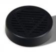 Polymer - Humidorbefeuchter - LASA 5,6x1,5cm schwarz Klettband