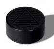Humidor-Polymerbefeuchter rund schwarz 5,3x2,0cm