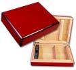 Büro - Reisehumidor Dickschichtlackierung Red V-100