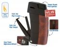 Xikar Pfeifenfeuerzeug Recource Rotbuche-schwarz
