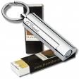 S.T. Dupont Zigarrenbohrer MAXIJET chrom-glänzend + 2x Habanos-Specialist Streichholz