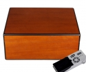 Cigar Oasis Ultra Savoy by Ashton Humidor Pearwood medium