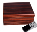 Cigar Oasis Ultra Savoy by Ashton Humidor Macassar medium