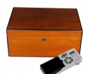 Cigar Oasis Ultra Savoy by Ashton Humidor Pearwood Large
