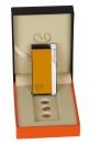 Myon Elektra lll Elektronik Feuerzeug Turboflamme gelb