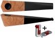 Vauen Pfeife Quixx glatt natur + Winjet Pfeifenfeuerzeug