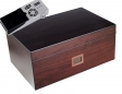 Cigar Oasis Ultra Dark Walnuss Furnier Humidor digital