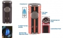 Xikar HP4 QUAD Diamant Feuerzeug gunmetal