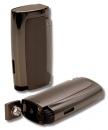 Xikar Pulsar Triple Jet Feuerzeug mit Bohrer gunmetal