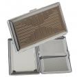 Ausstellungsstück Zigarillo - Zigarettenetui chrom 120mm mit Spiegel