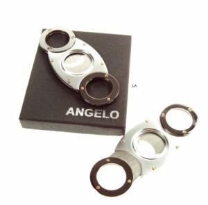 Angelo Zigarrencutter 2 Klingen Bicolor