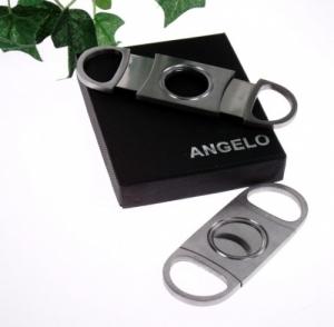Angelo Zigarrencutter 2 Klingen Klassik