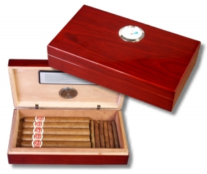 Mini Humidor Pianolack