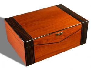 Sonderverkauf Bicolor Humidor Pianolack selbstregulierend