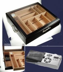 Cigar Oasis Ultra 2.0 PROFI GASTROHUMIDOR Black V-13100