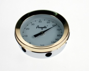 Original Angelo Humidor Hygrometer Luxusversion