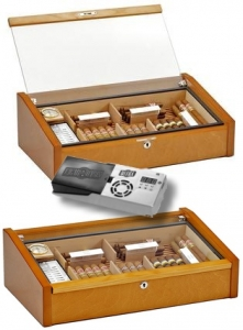 Cigar-Oasis-Ultra 2.0 Adorini Humidor Vega - Deluxe mahagonie