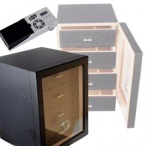 Angelo Humidorschrank Cabinet black V-1350 Cigar Oasis Ultra 2.0 Cigar Oasis Ultra 2.0