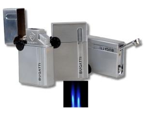 Bugatti Zigarren - Feuerzeug BL 200 mit Zigarrenbohrer