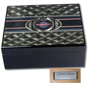 Bugatti Humidor Limited Edition 3D Grafik