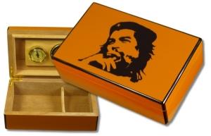 Klavierlack Humidor Che Guevara Cohiba Stil