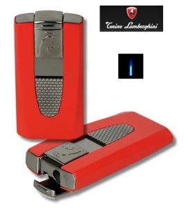 Tonino Lamborghini Feuerzeug Hungaro red