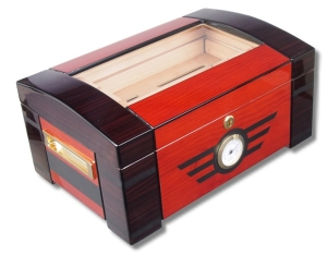 Furniervariation Humidor Palisander Ebony V-1105
