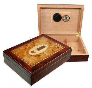 Cigar Intarsien Humidor V-180