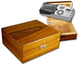 Cigar Oasis Howard Miller Humidor Brazilian Rosewood-Furnier V-570