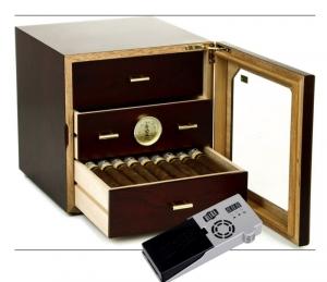 Adorini Humidor Chianti medium deluxe Rosenholz V-1060 Cigar Oasis Ultra 2.0 Cigar Oasis