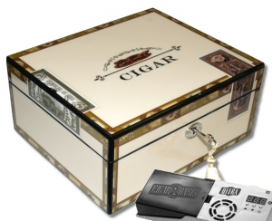 Cigar Oasis Ultra 2.0 Angelo Humidor High Closs Cigarbox V-460