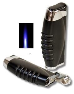 Tycoon Zigarrenfeuerzeug Jet black