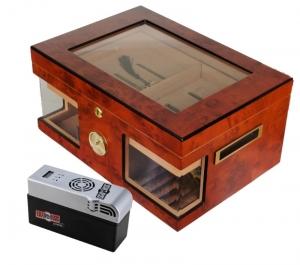 Cigar Oasis EXCEL LA Wonderful Kristallglas Humidor