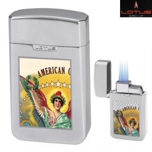 Lotus Cuban Vista Collection Tischfeuerzeug American Glory