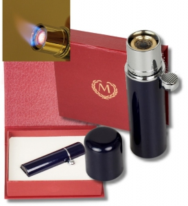 Myon-Paris Zigarren-Feuerzeug Havanna Midnigtblue