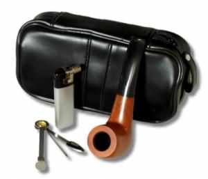 Pfeifen-Einsteiger-Set neues Design inkl. Feuerzeug 10tlg