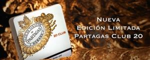 Nueva Edition Limitada 20er Pack Partagas Zigarillo Club