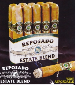 Zigarre Reposado 96 Toro