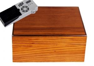 Cigar Oasis Ultra Savoy by Ashton Humidor Zebra Wood
