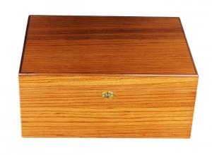 Savoy by Ashton Humidor Zebra Wood Large