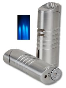 Xikar Ellipse Triple Jet Feuerzeug silver