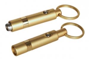 Design Zigarrenbohrer mit Schnappmechanik gold