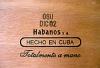 Kubanische Zigarren mit Boxing Date