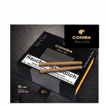 50er Travel Edition Cohiba Zigarillo Club
