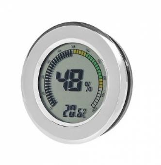 Angelo Digital Hygrometer - Thermometer rund