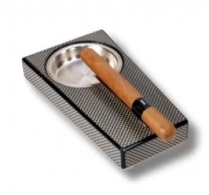 Klavierlack Zigarrenascher Carbon Finish